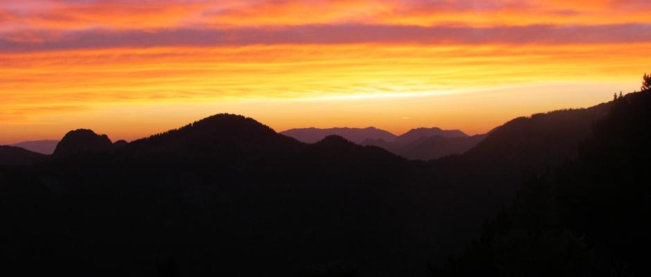 Jutro na grebenu Kriške gore